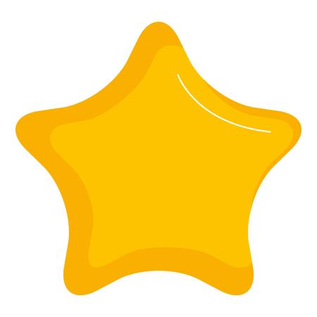 Illustration pour star light isolated icon vector illustration design - image libre de droit