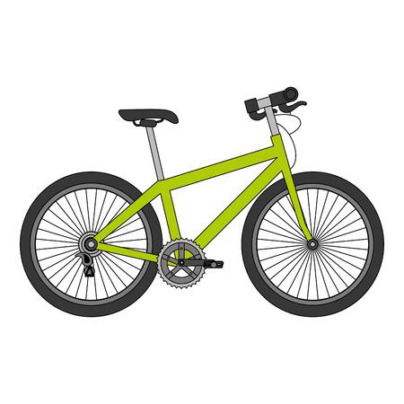 Ilustración de Sport bicycle isolated icon vector illustration design - Imagen libre de derechos