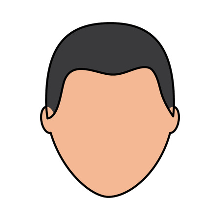 Illustrazione per default male avatar man profile picture icon vector illustration  - Immagini Royalty Free