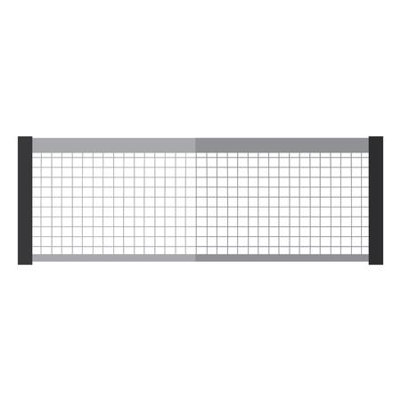 Ilustración de tennis net icon image vector illustration design  - Imagen libre de derechos