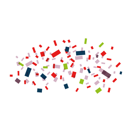 Illustration pour Explosion of paper confetti vector illustration design - image libre de droit