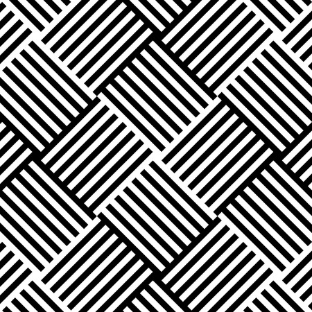 Illustration pour Geometric lines pattern background vector illustration design. - image libre de droit