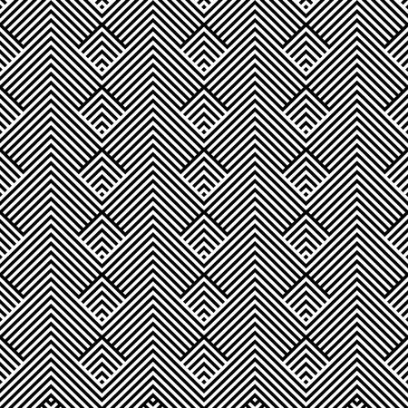 Illustration pour geometric lines pattern background vector illustration design - image libre de droit