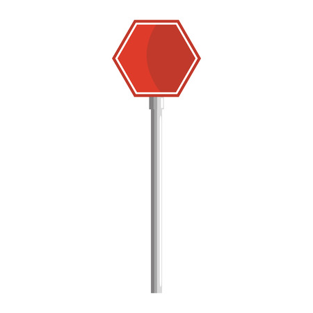 Illustration pour Stop traffic signal icon illustration design. - image libre de droit