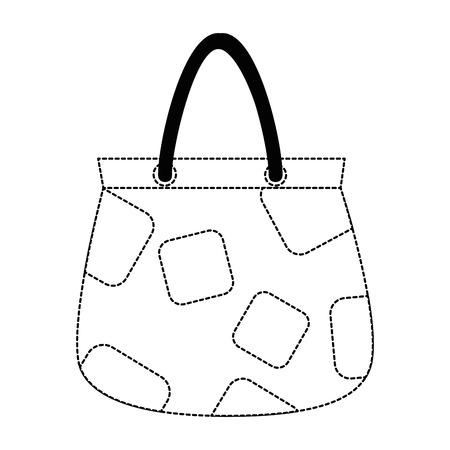 Illustration pour woman handbag isolated icon vector illustration design - image libre de droit