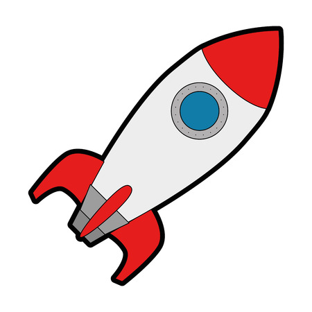 Illustration pour rocket launcher isolated icon vector illustration design - image libre de droit