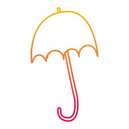 Ilustración de Parasol design - Imagen libre de derechos