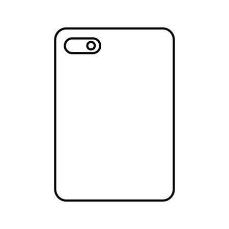 Illustration pour Phone device image - image libre de droit