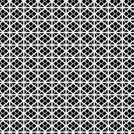 Illustration pour monochrome geometric pattern background vector illustration design - image libre de droit