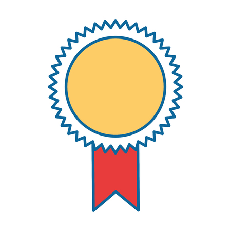 Illustration pour seal diploma isolated icon vector illustration design - image libre de droit