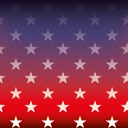 Ilustración de flag of united states degraded blur image vector illustration - Imagen libre de derechos