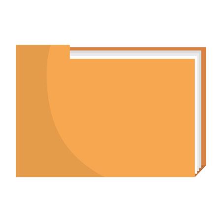 Ilustración de file folder documents icon vector illustration design - Imagen libre de derechos