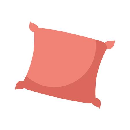 Illustration pour decorative cushion soft elegant image vector illustration - image libre de droit