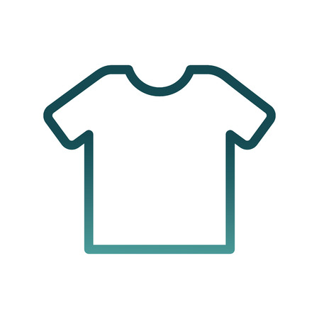 Illustration pour shirt clothes isolated icon vector illustration design - image libre de droit
