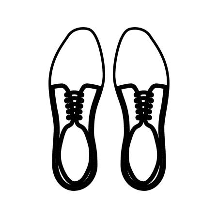 Ilustración de Shoes icon - Imagen libre de derechos