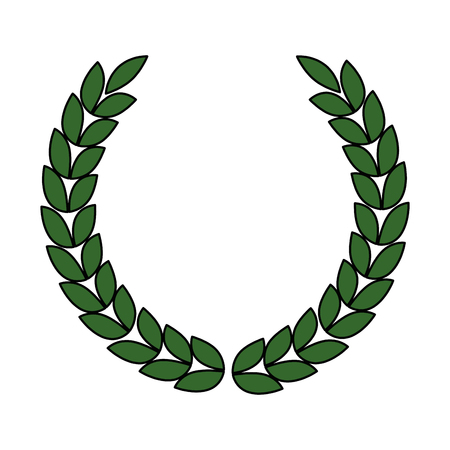 Illustration for Wreath crown icon vector illustration design - Royalty Free Image