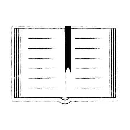 Illustration for sacred book religious icon vector illustration design - Royalty Free Image