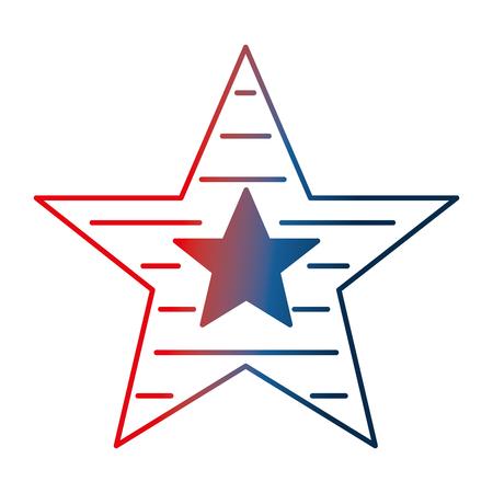 Illustration pour stars decoration stripes ornament image vector illustration gradient design - image libre de droit