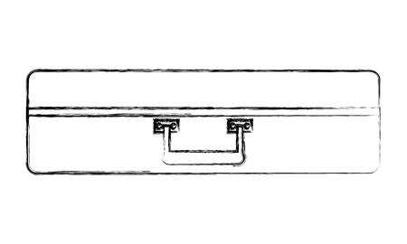 Ilustración de travel old suitcase accessory image vector illustration - Imagen libre de derechos