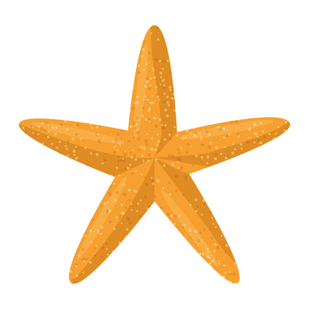 Illustration pour starfish animal beach icon vector illustration design - image libre de droit