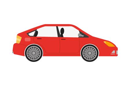 Illustration pour car sedan isolated icon vector illustration design - image libre de droit