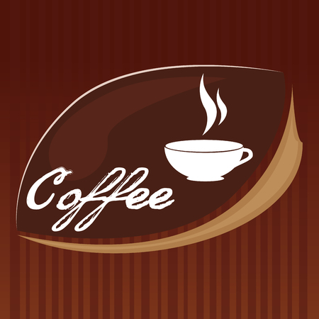 Illustration for delicious coffee cup drink vector illustration design - Royalty Free Image