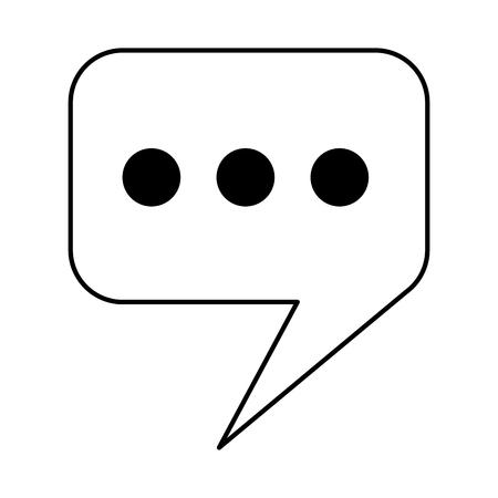 Illustration pour cellphone device gadget on white background vector illustration monochrome - image libre de droit