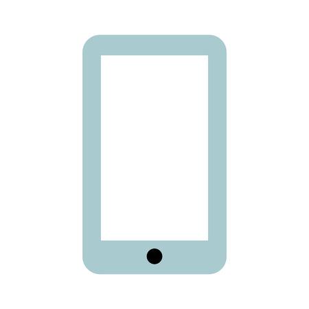 Illustration pour smartphone technology line icon vector illustration design - image libre de droit