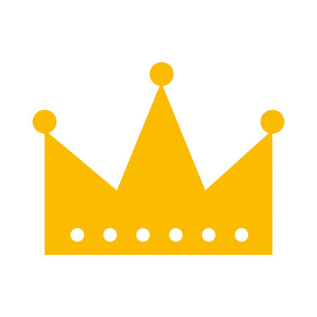 Illustration for king crown isolated icon vector illustration design - Royalty Free Image