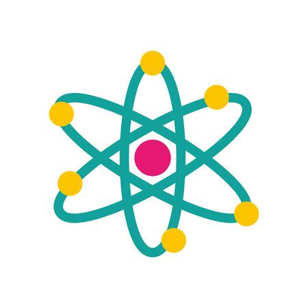 Illustration pour molecule structure isolated icon vector illustration design - image libre de droit