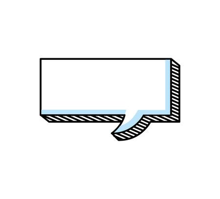 Illustration pour speech buble isolated icon vector illustration design - image libre de droit