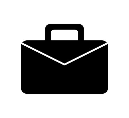 Ilustración de portfolio business isolated icon vector illustration design - Imagen libre de derechos