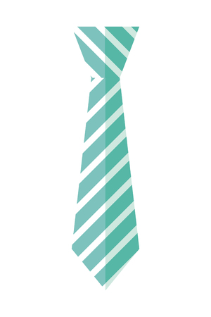 Illustration for tie accessory for men vector illustration design - Royalty Free Image