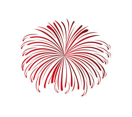 Ilustración de splash fireworks isolated icon vector illustration design - Imagen libre de derechos