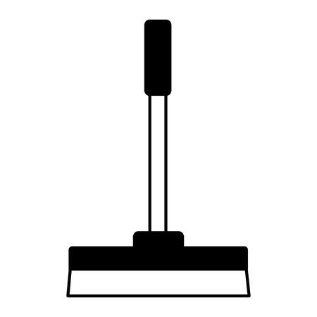 Illustration pour squeegee spring cleaning tools vector illustration design - image libre de droit