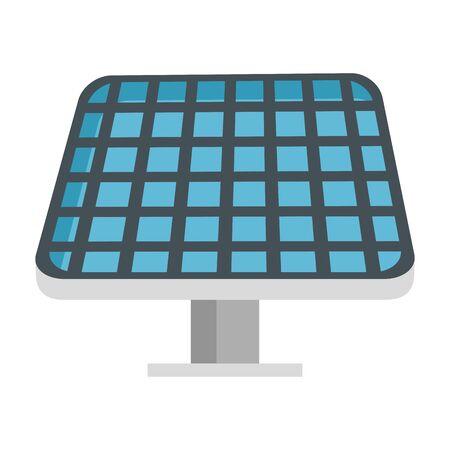 Ilustración de solar panel energy ecology vector illustration design - Imagen libre de derechos