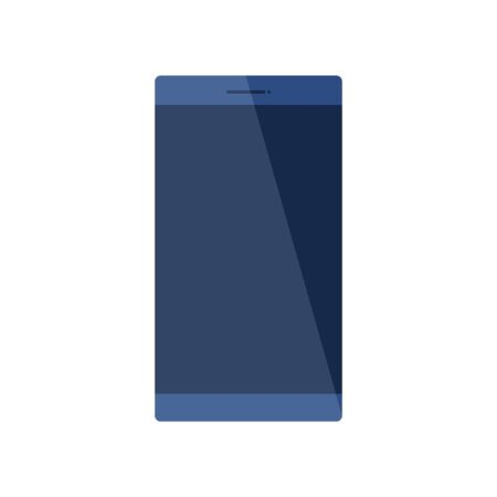 Illustration pour smartphone device technology isolated icon vector illustration design - image libre de droit