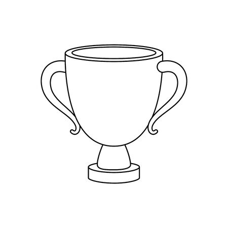 Illustration for golden chalice cup religion icon vector illustration design - Royalty Free Image