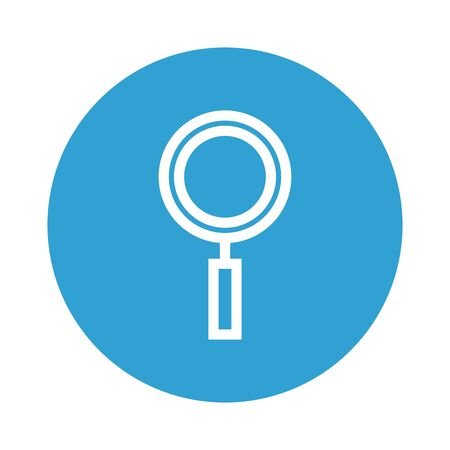 search magnifying glass isolated icon vector illustration design