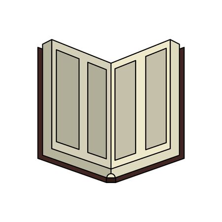 Illustration for koran book religious isolated icon vector illustration design - Royalty Free Image