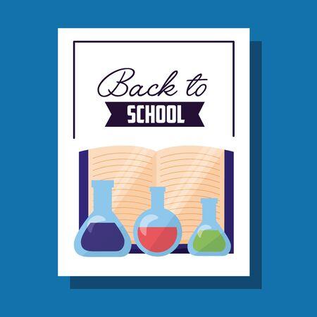 Ilustración de Back to school design, Education learning knowledge study class and lesson theme Vector illustration - Imagen libre de derechos