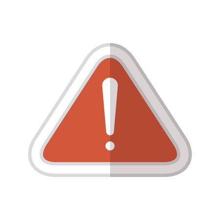 Ilustración de Alarm design, Security system warning protection danger web and alert theme Vector illustration - Imagen libre de derechos