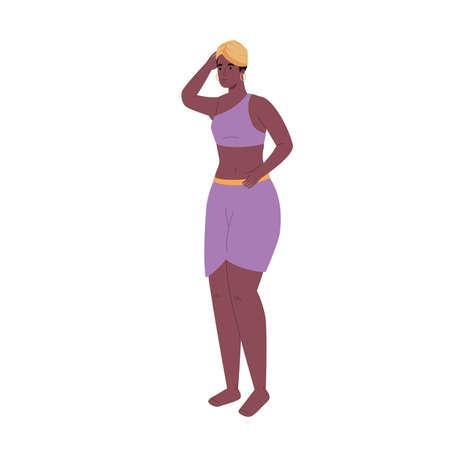 African aborigine with hat icon