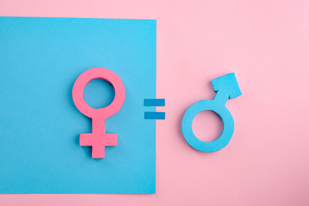 Photo for Equality between men and women - Royalty Free Image
