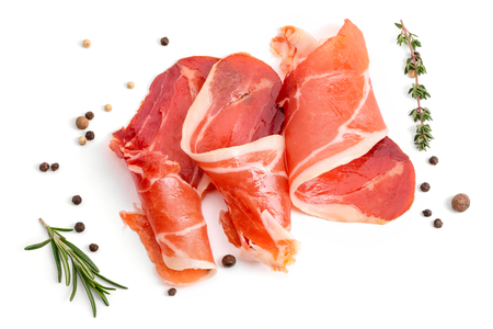 Photo for Slices of appetizing jamon - Royalty Free Image