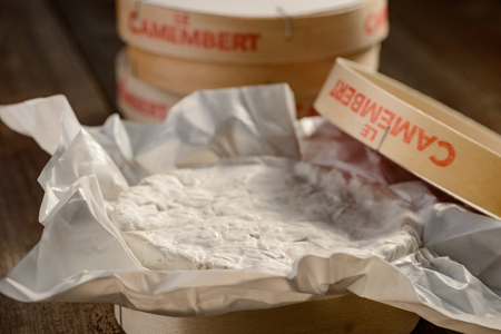 Photo for Close up on Camembert cheese - Royalty Free Image