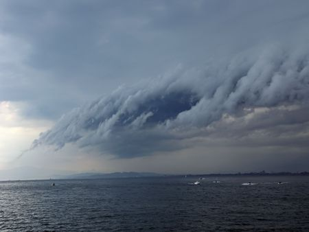 heavy storm cloud