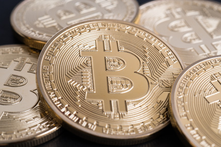 Photo for Bitcoin - Royalty Free Image