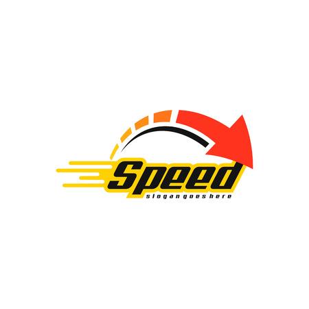 Ilustración de Speed logo vector - Imagen libre de derechos