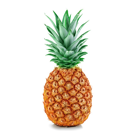 Photo pour pineapple isolated - image libre de droit